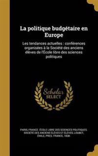 FRE-POLITIQUE BUDGETAIRE EN EU
