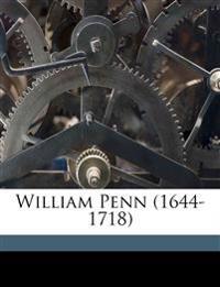 William Penn (1644-1718)
