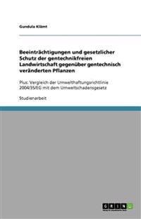 Beeintrachtigungen Und Gesetzlicher Schutz Der Gentechnikfreien Landwirtschaft Gegenuber Gentechnisch Veranderten Pflanzen