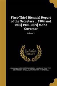 1ST-3RD BIENNIAL REPORT OF THE
