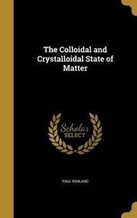 COLLOIDAL & CRYSTALLOIDAL STAT