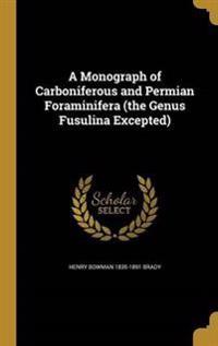 MONOGRAPH OF CARBONIFEROUS & P
