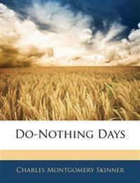 Do-Nothing Days
