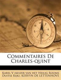 Commentaires De Charles-quint