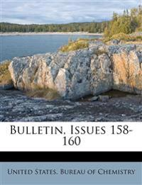 Bulletin, Issues 158-160