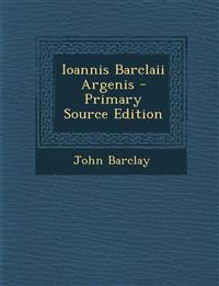 Ioannis Barclaii Argenis