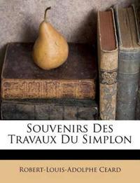 Souvenirs Des Travaux Du Simplon