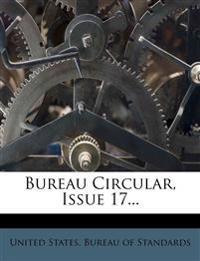 Bureau Circular, Issue 17...