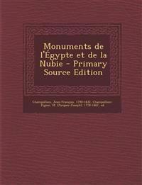 Monuments de l'Égypte et de la Nubie