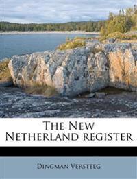 The New Netherland register