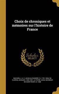 FRE-CHOIX DE CHRONIQUES ET MEM