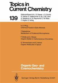 Organic Geo- and Cosmochemistry