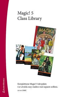 Magic! 5 Class Library - Easy Readers (4 st) med ordlista