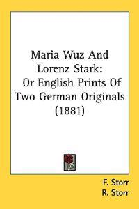 Maria Wuz and Lorenz Stark