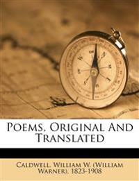 Poems, original and translated