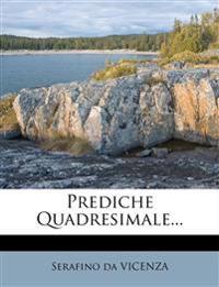 Prediche Quadresimale...