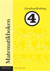 Matematikboken 4 Lärarhandledning