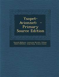 Ysopet-Avionnet: