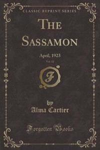 The Sassamon, Vol. 12