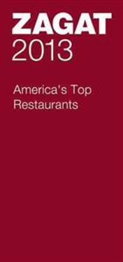 Zagat 2013 America's Top Restaurants