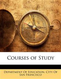 Courses of Study