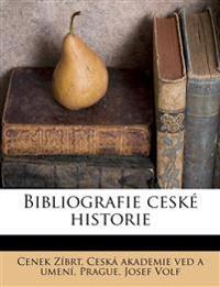 Bibliografie ceské historie