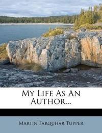 My Life as an Author...