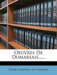 Oeuvres De Dumarsais......