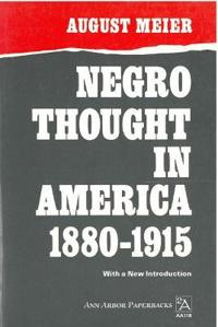 Negro Thought in America