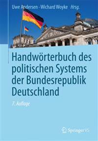 Handwörterbuch Des Politischen Systems Der Bundesrepublik Deutschland