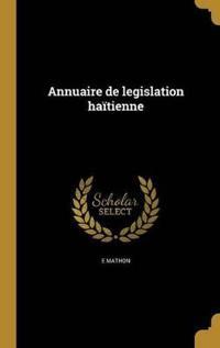 FRE-ANNUAIRE DE LEGISLATION HA