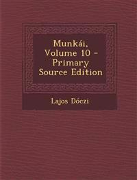 Munkai, Volume 10