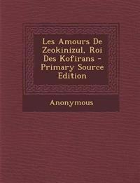 Les Amours De Zeokinizul, Roi Des Kofirans - Primary Source Edition