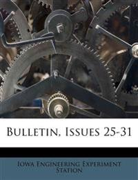 Bulletin, Issues 25-31