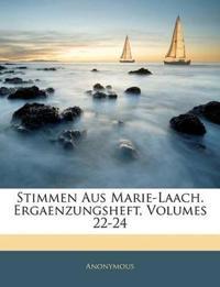 Stimmen aus Marie-Laach, katolische Blätter, Sechster Band
