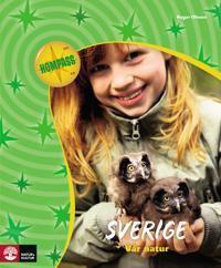 Kompass bi/fy/ke Sverige - vår natur Grundbok
