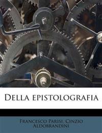 Della epistolografia