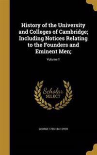 HIST OF THE UNIV & COLLEGES OF