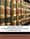 Memoria Anual Correspondiente Al Curso Académico De ...