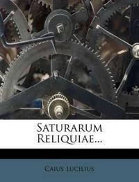 Saturarum Reliquiae...