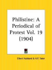 Philistine- A Periodical of Protest, 1904