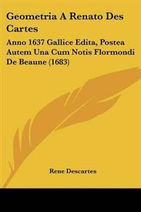 Geometria a Renato Des Cartes