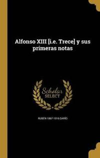 SPA-ALFONSO XIII IE TRECE Y SU