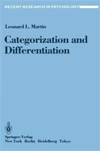 Categorization and Differentiation