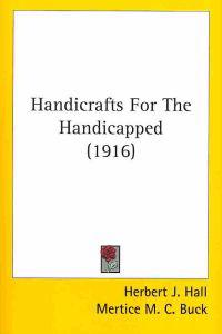 Handicrafts For The Handicapped