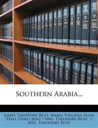 Southern Arabia...