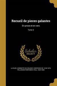 FRE-RECUEIL DE PIECES GALANTES