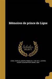 FRE-MEMOIRES DE PRINCE DE LIGN