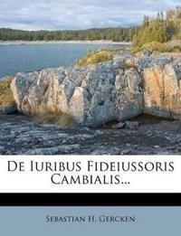 De Iuribus Fideiussoris Cambialis...