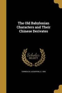 OLD BABYLONIAN CHARACTERS & TH
